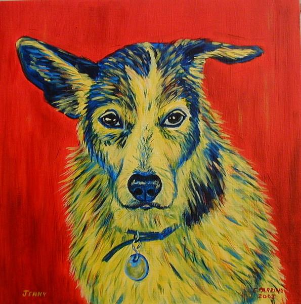 Jenny 12x12 Acrylic on Canvas