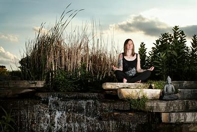 Deanna Vandiver Personal Art Inc.,Tattoo Project Yoga Temple - Valparaiso, Indiana
