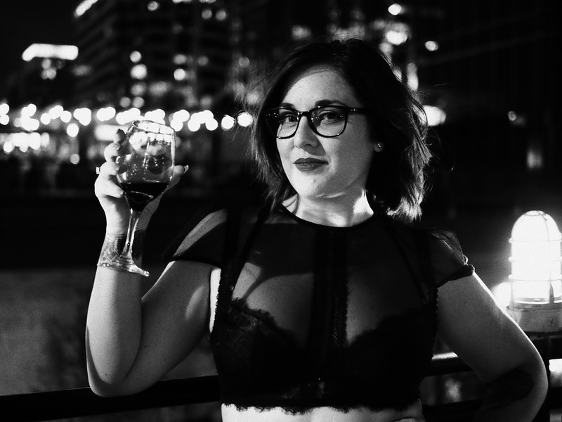 Shelley, Drink and Click Portrait - Austin, Texas