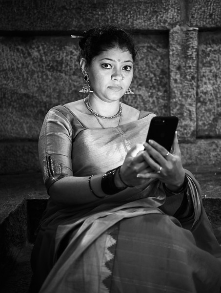 Sahana Lit by Smartphone - Bangalore, India