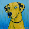 Branston 12x12 Acrylic on Canvas