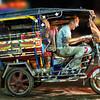 I borrowed a Tuk Tuk in Thailand and sped away!  Nong Khai, Thailand