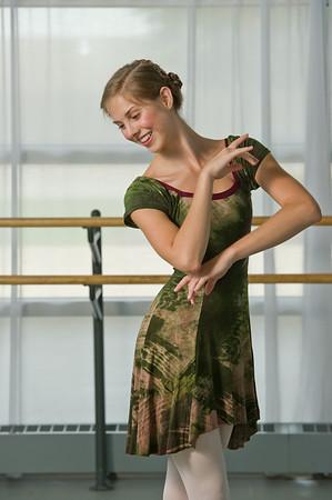 Ballerina Tatum Farlow from Ballet Memphis. Photo by Jason R. Terrell