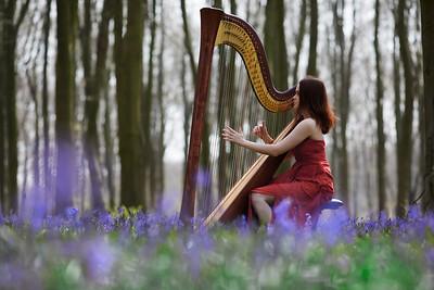 Miriam Wilford, harpist