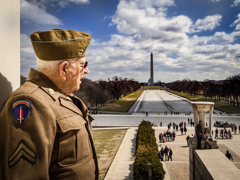 Arthur Mahler - WW2 Battle of the Bulge Army Veteran