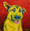 Ellie  12x12 Acrylic on Canvas SOLD