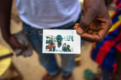Mamou, Guinea. 1 October, 2014.
