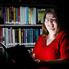 Oakland City-Columbia Township librarian Julie Elmore.