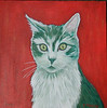 Pippa  12x12 Acrylic on Canvas