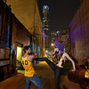 Street Fighters, Eight and Fets in an Alleyway - Austin, Texas