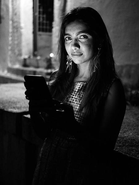 Sarika Lit by Smartphone - Bangalore, India