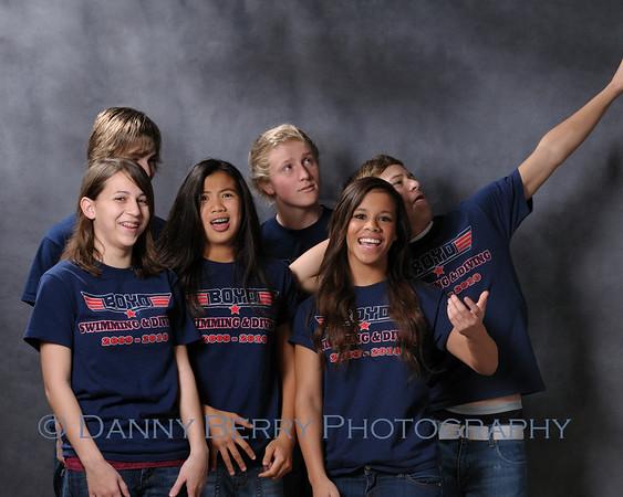 McKinney, Tx Boyd High School Swim and Dive Portraits - Outtakes