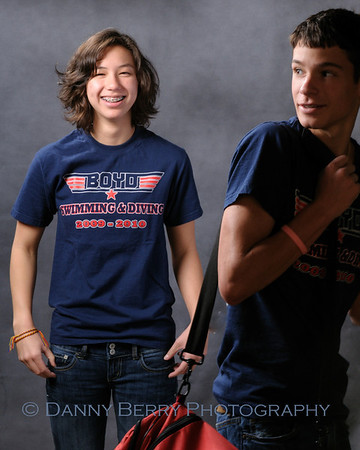 McKinney, Tx Boyd High School Swim and Dive Portraits - Outtakes