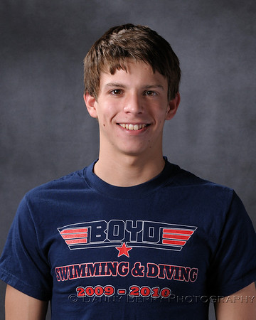 McKinney, Tx Boyd High School Swim and Dive Portraits - Varsity