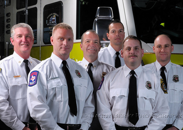 5x7 crop Fire Department Portraits - DFW Airport