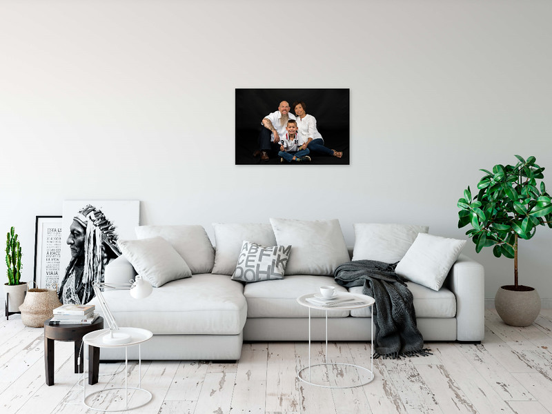 Got a large wall for your portrait, how about a 24 X 36 metal print to fill the space.