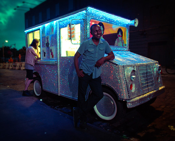 """DeShaun And The Bling Truck"" - New York, New York"