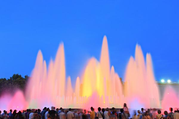 The Magic Fountain of Montjuic -Barcelona, Spain