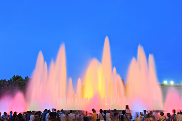 The Magic Fountain of Montjuic -Barcelona, Spain