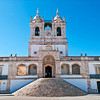 Nazaré church <br /> Church of Nossa Senhora da Nazaré<br /> Igreja de Nossa Senhora da Nazaré, located on the hilltop O Sitio overlooking Nazaré, Portugal.