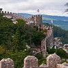 The climb to the top of Castelo Mouros, Sintra, Portugal