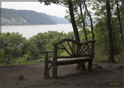 Pondering the Hudson, Locust Grove, Poughkeepsie, NY