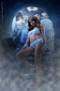 Another composite from studio photo, wings, tunnel photo, and fog layer