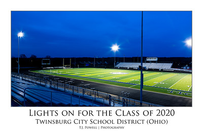 Lights on for the Class of 2020
