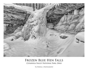 Frozen Blue Hen Falls (Cuyahoga Valley National Park, Ohio)