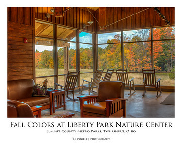 Fall Colors at Liberty Park Nature Center