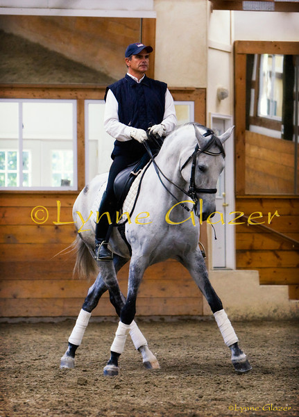 If training has not made a horse more beautiful, nobler in carriage, more attentive in his behavior, revealing pleasure in his own accomplishment...then he has not truly been schooled in dressage.<br /> -Col. Handler