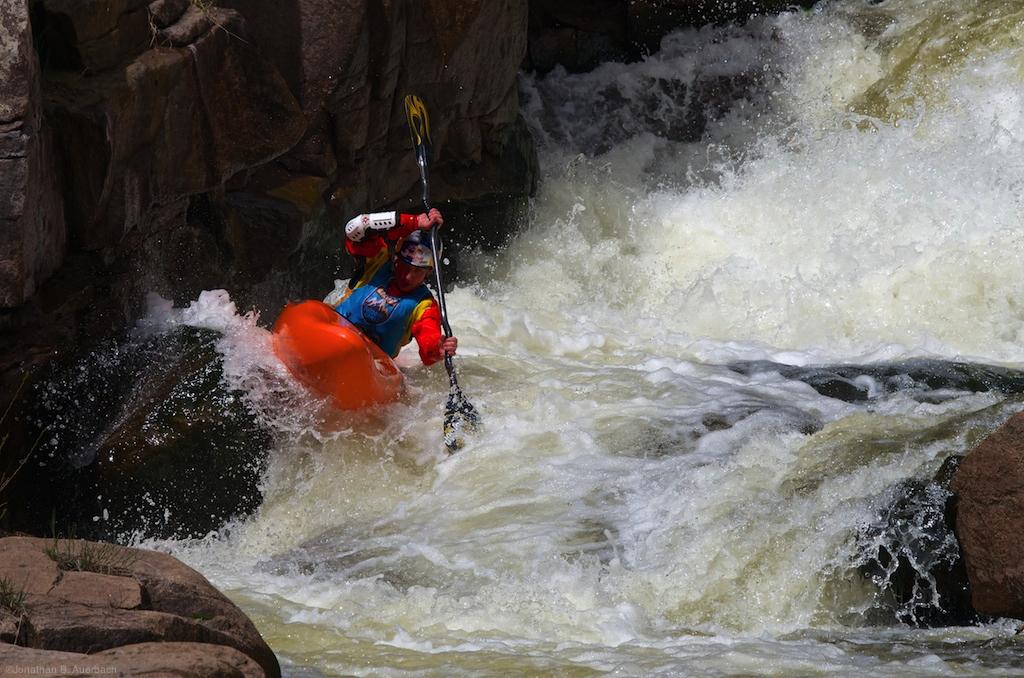 Dane Jackson on the South Saint Vrain river