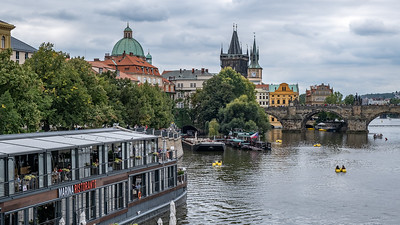 The Old Town End Of The Charles Bridge