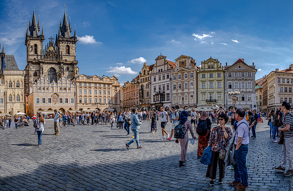 Looking To The Right Side Of Old Town Square