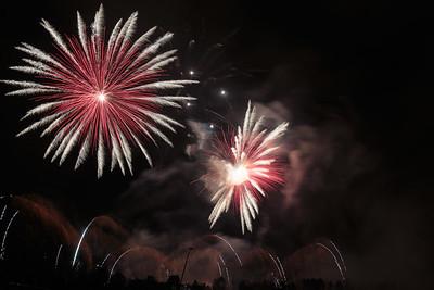 Fireworks in Prague 2015