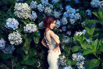 Pre-wedding-Evelyn-20170703-kaoHydrangea-1