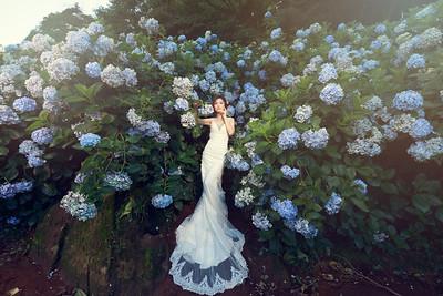 Pre-wedding-Evelyn-20170703-kaoHydrangea-4