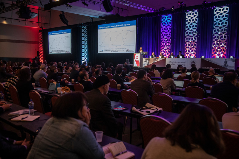 Sheri J. Skerget, PhD, speaks Paralell Session: Multiple Myeloma Genomics I