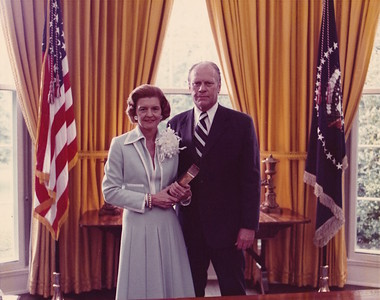 President Ford and Betty