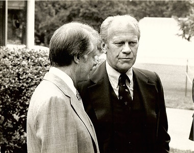 President Ford and President Carter
