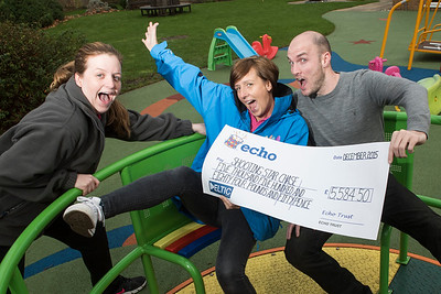 Shooting Star Cheque Presentation   Diane Lippiatt - Nursery Nurse, Dan Corry - General Manager, PRYZM Kingston. Vikki German- Play and Activities Coordinator,