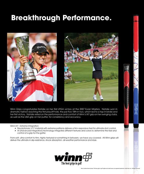 Breakthrough Performance.  (Golf Weekly)