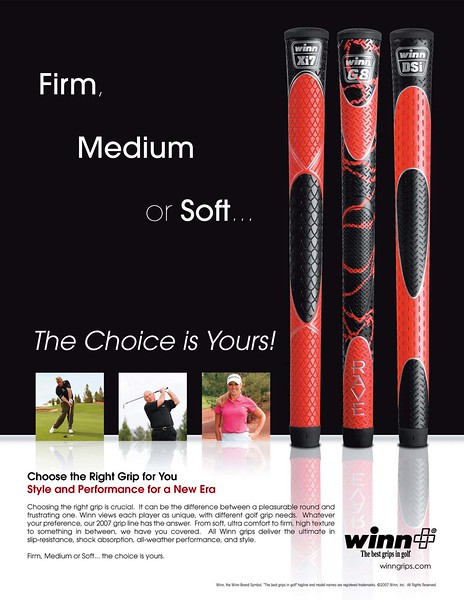 The Choice is Yours!  (Golf Digest)