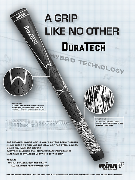 A Grip Like No Other. DuraTech.
