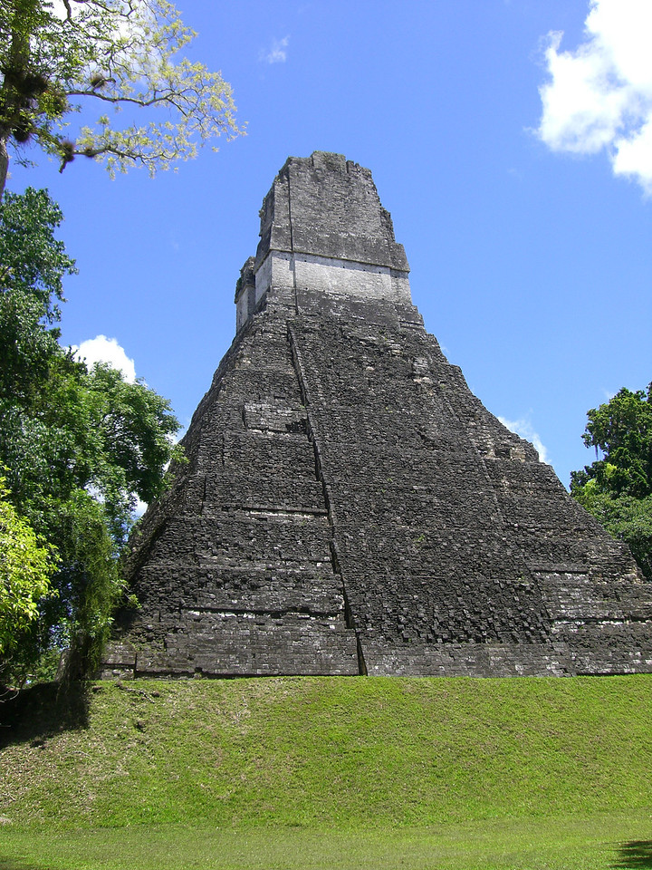 Mayan Temple - Tikal, Guatemala