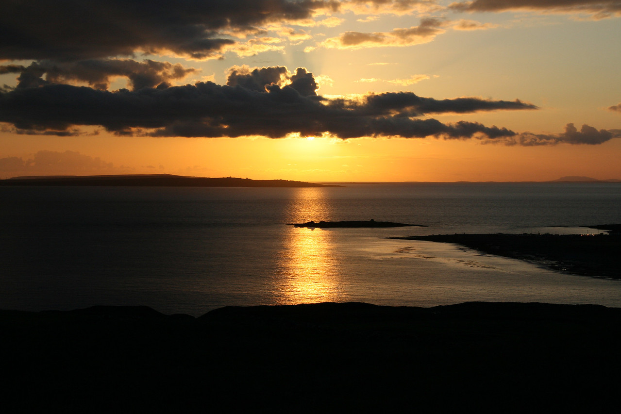 Sunset West Ireland