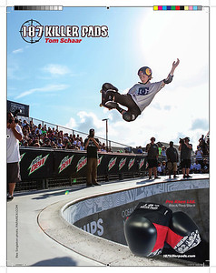 Tom Scharr Ad in Top Grom Magazine