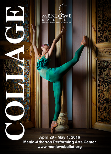 "Poster for Menlowe ballet ""Collage"""