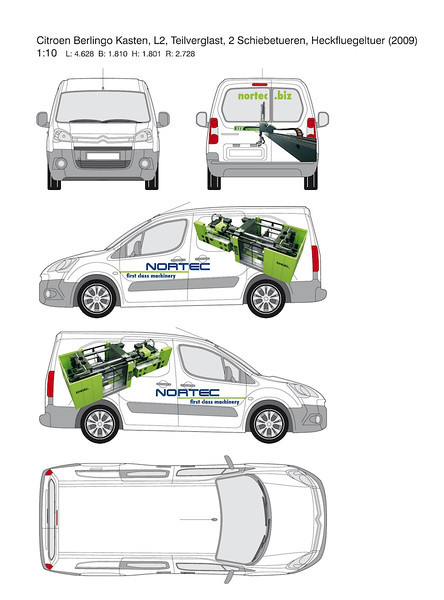 Gestaltung Fahrzeugbeschriftung