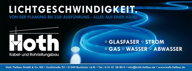 "Hoth Tiefbau Inserat ""Glasfasernetz"""